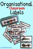 Classroom Resource Labels