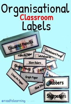 Classroom Resource Labels
