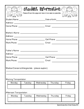 Back To School Printables and Activities - Upper Elementary