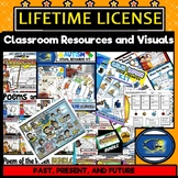 Classroom Resources and Visuals: Lifetime License BUNDLE