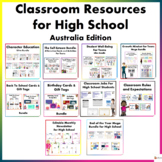 Classroom Resources for High School (Australia Edition)