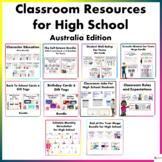Classroom Resources for High School (Australia Edition)