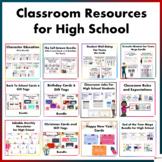 Classroom Resources for High School Students Mega Bundle