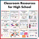 Classroom Resources for High School Students Mega Bundle