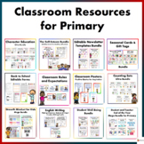 Classroom Resources for Primary Students Mega Bundle