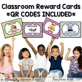 Classroom Reward Cards {QR Code Cards Included!}