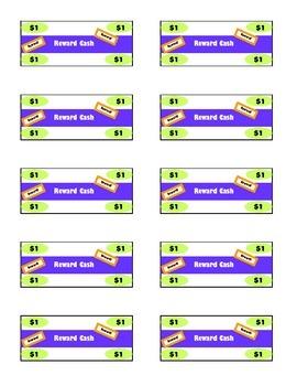 Classroom Reward Cash