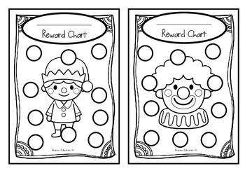 Classroom Reward Charts Set #2 Set of 24