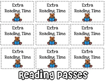 Classroom Reward Coupon & Incentives