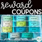Classroom Reward Coupons - Chevron
