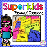 Good Behavior Reward Coupons: Super Students!