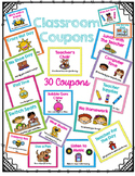 Classroom Coupons Behavior Rewards