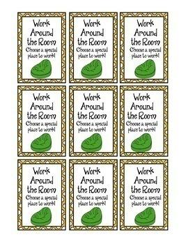 Classroom Reward Coupons & Prize Book