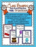 Classroom Reward Coupons & Prize Book