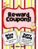 Classroom Reward Coupons {33 Easy to Use Coupons and Brain Break Ideas!}