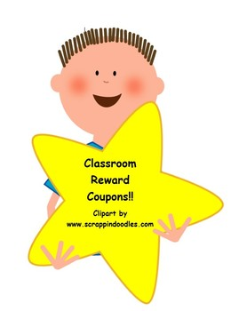 Classroom Reward Coupons!!  74 Full Page Coupons!!