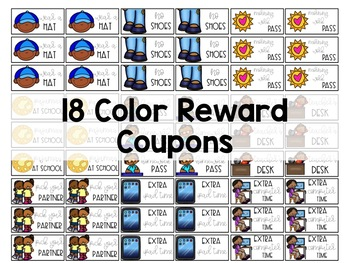 Classroom Reward Coupons [Cost-Free]
