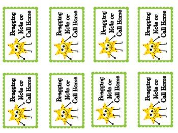 Classroom Reward Coupons for Behavior System