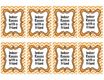 Classroom Reward Coupons for Good Behavior