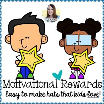 Motivational Reward Hat Template (Birthday, Super Improver