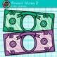 Classroom Reward Money Clip Art {Create Your Own Behavior Management System} 2