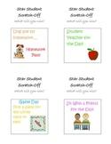 Classroom Reward Scratch Cards