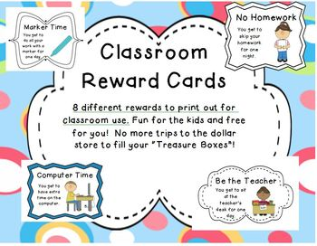 Classroom Rewards