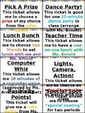 Classroom Rewards - EDITABLE