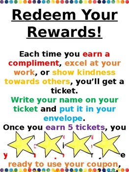 Classroom Rewards - EDITABLE