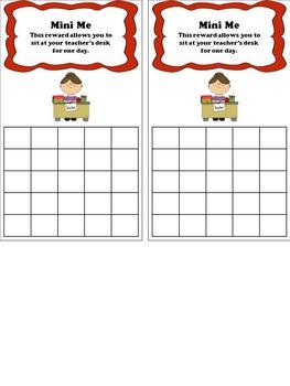 Classroom Rewards / Sticker Charts