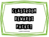 Classroom Rewards Packet