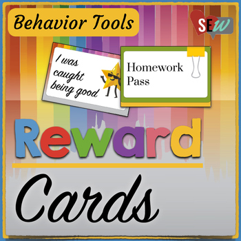 Reward Cards to Help Reinforce Positive Behavior