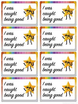 Reward Cards to Help Reinforce Positive Behavior
