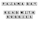 Classroom Rewards - Scrabble Tiles