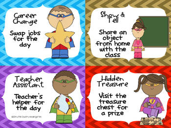 Classroom Reward Coupons: Superhero Themed Positive Incentives