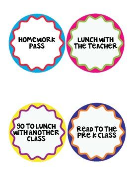 Classroom Rewards for Classroom Management