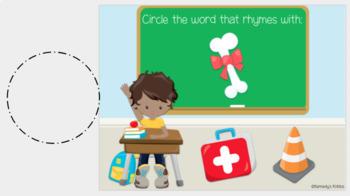 Classroom Rhyming (Great for Google Classroom)