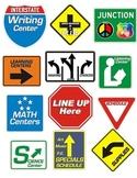 Classroom Road Signs