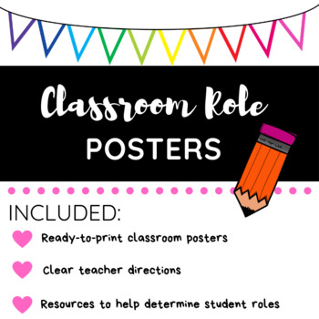 Classroom Role Posters