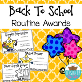 Classroom Routine & Expectations Awards