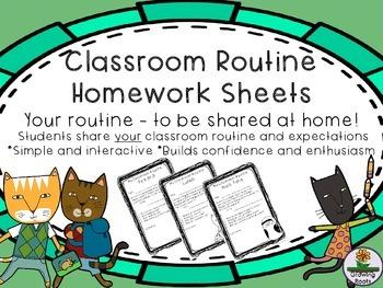 Classroom Routine Homework