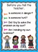 Classroom Routine Posters