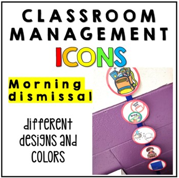 Classroom Routines Icons