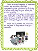 Classroom Routines and Procedures
