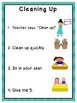 Classroom Routines and Procedures - Printable Posters for Classroom Management