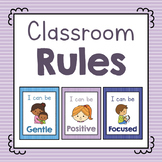 Classroom Rule Cards