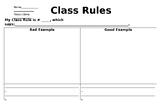 Classroom Rule Comic