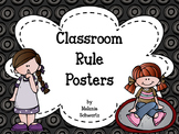 Classroom Rule Posters