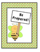 Classroom Rule Posters-4 Posters stated in a positive manner with bee graphics