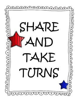 Classroom Rule Posters - Colorful Stars
